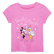 Disney Baby Collection Minnie and Daisy Graphic Tee - Girls newborn-24m