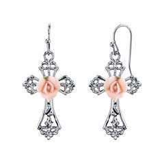 Symbols Of Faith Religious Jewelry Drop Earrings