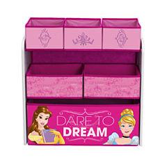 Disney Princess 6-Cubby Toy Organizer