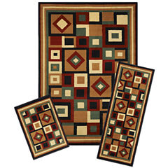 Achim Chelsea Rectangular 3-pc. Rug Set
