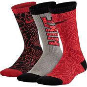 Nike® 3-pk. Graphic Crew Socks - Boys