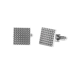 Stafford® Textured Gunmetal Cufflinks