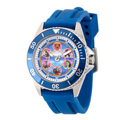 Guardian Of The Galaxy Marvel Mens Blue Strap Watch-Wma000120