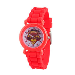Guardian Of The Galaxy Marvel Boys Red Strap Watch-Wma000146