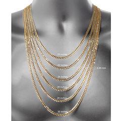 14K White Gold 038 18