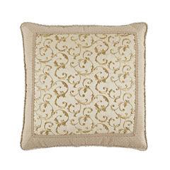 Croscill Classics Daphne Floral Euro Pillow