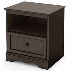South Shore Savannah 1-Drawer Nightstand