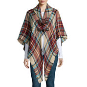 Mixit™ Plaid Toggle Wrap
