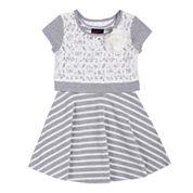 Girls Rule® Popover Dress - Toddler Girls 2t-4t