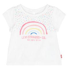 Levi's Short Sleeve T-Shirt-Baby Girls