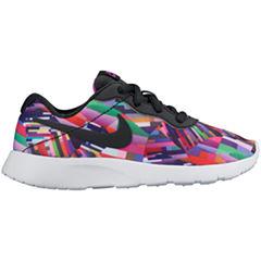 Nike® Tanjun Print Girls Athletic Shoes - Big Kids