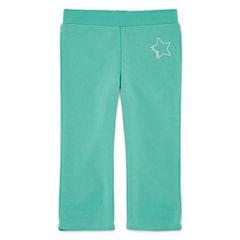 Okie Dokie® Fleece Pants - Baby Girls newborn-24m