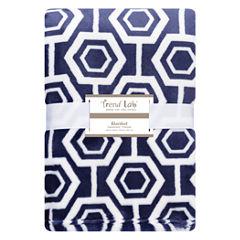 Trend Lab Hexagon Receiving Blanket
