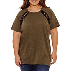 Arizona Short Sleeve T-Shirt- Juniors Plus