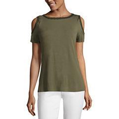 Liz claiborne misses size shirts tops for women jcpenney for Liz claiborne v neck t shirts