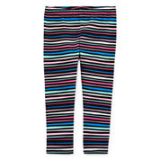 Okie Dokie Stripe Leggings - Baby Girls newborn-24m