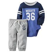 Carter's® Bodysuit and Pants Set - Baby Boys newborn-24m