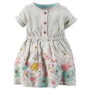 Carter's® Short-Sleeve Floral Dress - Baby Girls newborn-24m