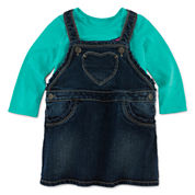 Arizona Long-Sleeve Graphic Top or Jumper - Baby Girls 3m-24m