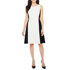 Ronni Nicole Sleeveless Fit & Flare Dress
