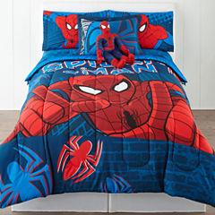 Marvel® Spider-Man® Twin/Full Reversible Comforter + BONUS Sham Collection