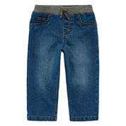 Arizona Dark-Wash Ribbed Jeans - Baby Boys 3m-24m