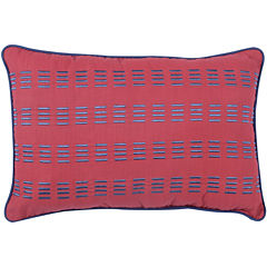 Frank and Lulu Preppy Plaid Oblong Decorative Pillow