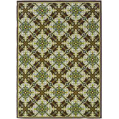 Covington Home Tiles Indoor/Outdoor Rectangular Rug
