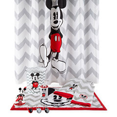 Disney Chevron Mickey Mouse Bath Collection