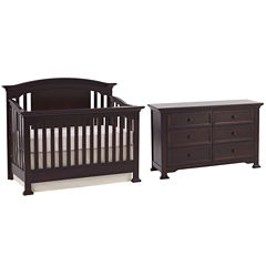 Munire Medford 2-PC Baby Furniture Set- Espresso