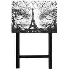 Oriental Furniture Eiffel Tower TV Tray Table