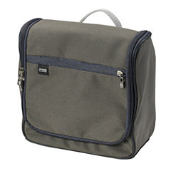 Brushed Twill Hanging Toiletry Kit