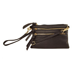 Imoshion Zip Top Wristlet Clutch