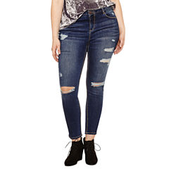 Blue Spice Skinny Fit Jean-Juniors Plus