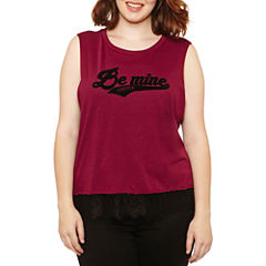 Arizona Jersey Tank Top-Juniors Plus