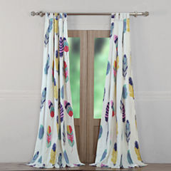 Greenland Home Fashions Dream Catcher Tab-Top Curtain Panel