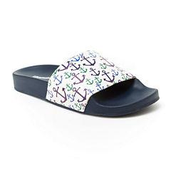 Union Bay Miraculous Womens Slide Sandals