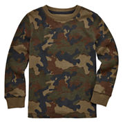 Arizona Long-Sleeve Graphic Thermal Top - Preschool Boys 4-7
