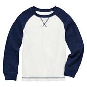 Arizona Long-Sleeve Solid Raglan Thermal Top - Preschool Boys 4-7