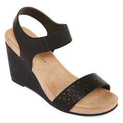 CL by Laundry Tatum Womens Wedge Sandals