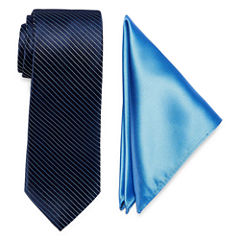 Us Polo Assn. Stripe Tie Set