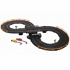Battery Operated Speed Racer Road Racing Set