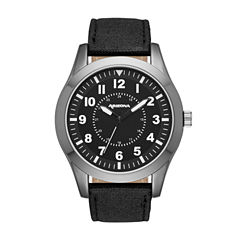 Arizona Mens Black Strap Watch