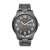 Arizona Mens Black Dial Bracelet Watch