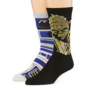 Star Wars® 2-pk. Casual Crew Socks