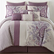 Home Expressions™ Kacey Paisley 10-Pc. Comforter Set