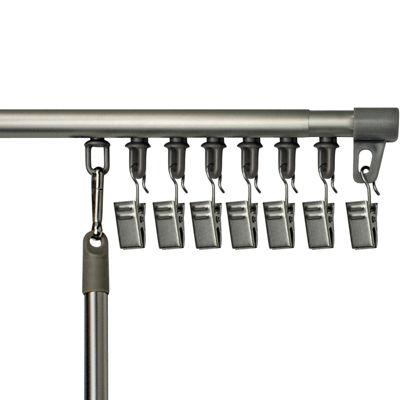bali universal track adjustable curtain rod