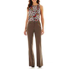 Worthington® Shirred-Neck Top or Modern Angle-Pocket Pants