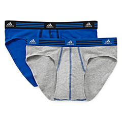adidas® 2-pk. Athletic Stretch Briefs
