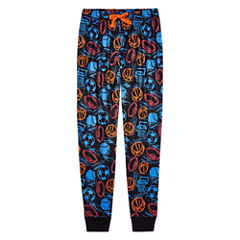 Arizona Boys Sport Print Jogger Sleep Pant - Big Kid